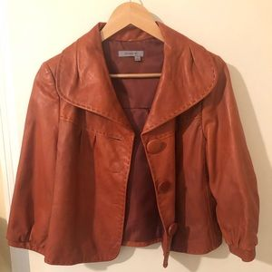 Genuine leather Classiques Entier jacket